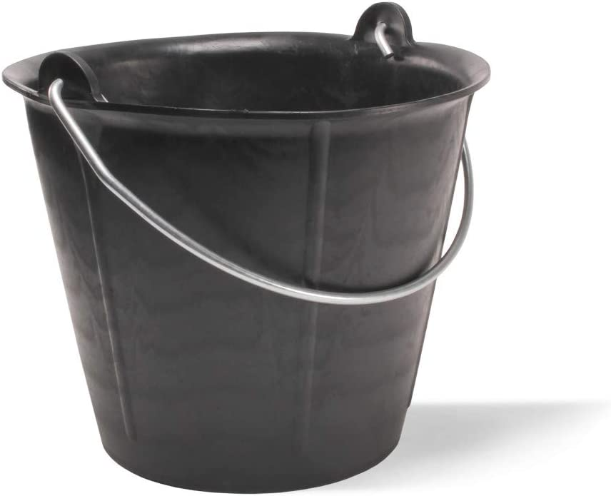Rubi M262679/Seau en plastique Noir 12/l