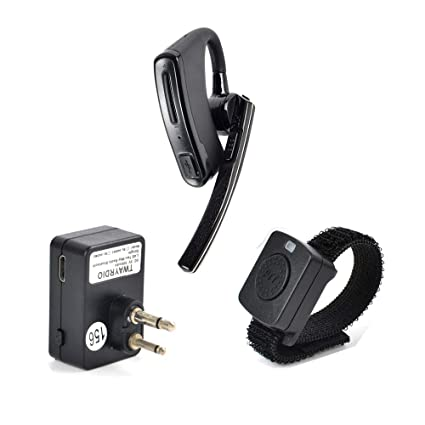 1e47ba176b4 NAGOYA New Upgrade System Two Way Radio 2 Pin(Male) Walkie Talkie Earpiece  Bluetooth