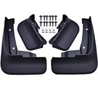 Front Mudflaps for Sportage MK2 2017 2018 2019 QL Car Rear Mudflaps Fender Flares Mud Flaps Splash Mudguards Guards Accessories Front and Rear Set of 4Pcs