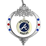 Final Touch Gifts Atlanta Braves Christmas Ornament