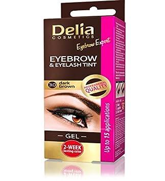 Delia Cameleo Eyebrow Tint Cream Dark Brown 3 0 Amazon Co Uk Beauty