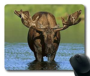 Elk Easter Thanksgiving Personlized Masterpiece Limited Design Oblong Mouse Pad by Cases & Mousepads