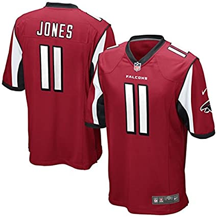 Amazon.com   Nike Atlanta Falcons Julio Jones Red Game Jersey Men s ... 98937b1f4