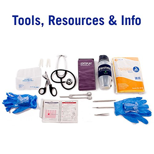 Deluxe Ems-Style Kit By Nutristore | First Aid Ems Kit Including First Responder Medical Supplies In A Large Emergency Trauma Medic Bag by Nutristore (Image #5)