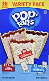 Pop-Tarts Breakfast Toaster Pastries, Flavored Variety Pack, Frosted Strawberry, Frosted Blueberry, Frosted Cherry, 88 oz (48 Count)