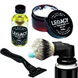 Legacy Shave - Evolution Brush Complete Wet Shave...