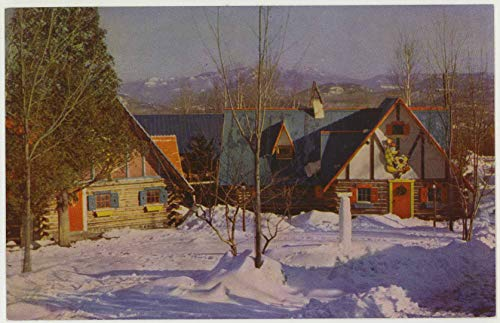 Adirondack Panarama - Santa's Workshop North Pole - Wilmington New York - Vintage Chrome Amusement Park Postcard - #Sar 244
