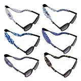 Ava & Kings 6pc Kids Neoprene Glasses Holder Neck Strap Sports Retainer - Boys