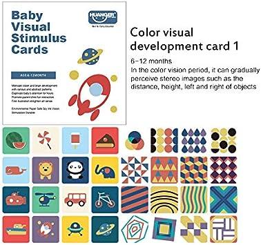 TIAS Tarjetas Flash en Blanco Y Negro para Bebés Educación Temprana Estimulación Visual del Bebé para Seguir Al Recién Nacido 0-36 Meses Entrenamiento del Color del Juguete del Bebé