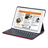 ipad 2 keyboard logitech - Logitech Canvas Keyboard Folio Case for iPad Air 2 -Red (920-007273)