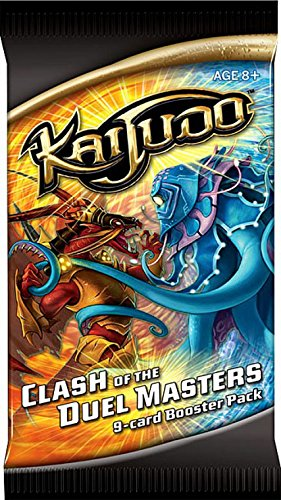 (Kaijudo Trading Card Game CLASH OF THE DUEL MASTERS Booster Pack )
