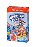 Hawaiian Punch Singles To Go Powder Packets, Water Drink Mix, Fruit Juicy Red, 96 Single Servings (Pack of 12)