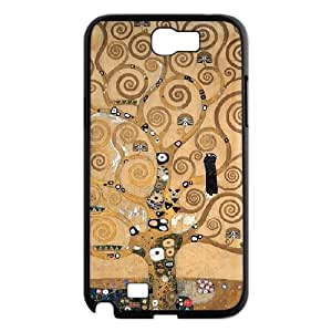 Samsung Galaxy Note 2 Cases Tree of Life, Samsung Galaxy Note 2 Cases the Tree of Life, [Black]
