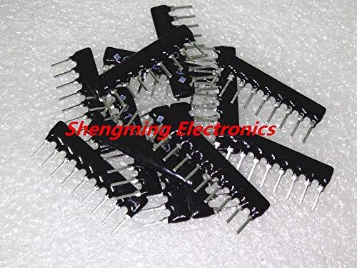 50PCS 9Pin Resistor Network Array A09-473J 9A473J A09-473 47K OHM 2.54MM Pin SIP-9