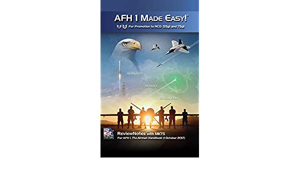 Amazon com: 2017-2019 AFH 1 Made Easy! For Promotion to NCO