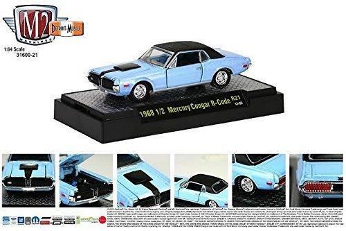 1968 ½ Mercury Cougar R-Code (13-03) * M2 Machines Detroit Muscle Release 21 * 2013 Castline Premium Edition 1:64 Scale Die-Cast Vehicle Set