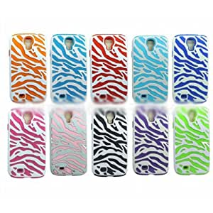 ensunpal store New POPULAR Zebra Hybrid Hard Silicone Case Cover For Samsung Galaxy S4 i9500?