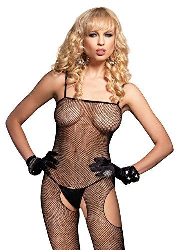 Fishnet Suspender Bodystocking O/s Black ()