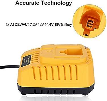 CHARGEUR 1.2V-18V pour Dewalt DW9095,DW9096,DW9098,DC9091,DE9038