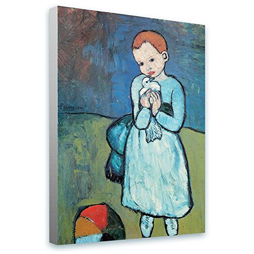 Alonline Art - Child With Dove Pablo Picasso FRAMED, used for sale  Delivered anywhere in Canada