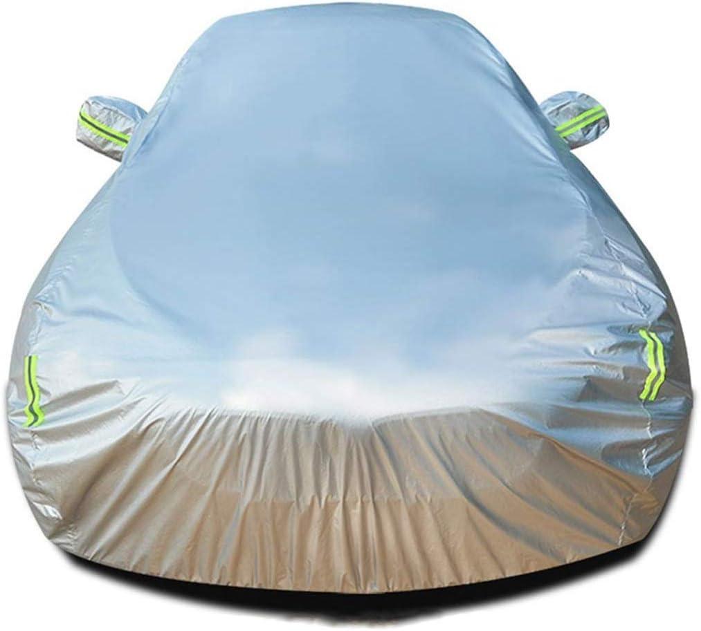 HZJCY 便利な メルセデス・ベンツS 350 4MATIC Dリムジンアウトドアオートカバー通気性の自動車カバーオートガーディング自動車アンチUV防水フル・カーカバー天気ディフェンダーサンズに対応車のカバーカーカバー (Color : Silvercottonlimousine)