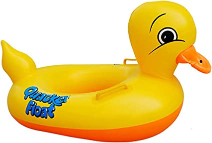 Amazon.com: Amarillo Pato inflable piscina Flotador para ...
