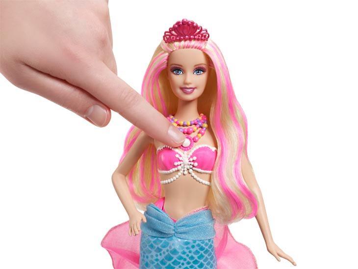 Amazon.com: Barbie The Pearl Princess 2-in-1 Transforming