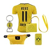 #11 Reus (6 in 1 Combo) Dortmund Home Match Adult Soccer Jersey 2016-17