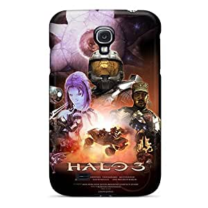DwXPcDN6967FrtRl Tpu Phone Case With Fashionable Look For Galaxy S4 - Halo 3