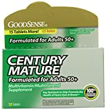 Cheap GoodSense CENTURY Mature Multivitamin, 125-count