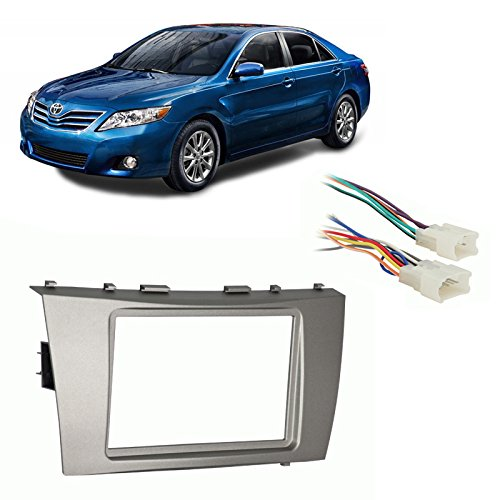 Amazon.com: Fits Toyota Camry 2007-2011 Double DIN Stereo Harness Radio Install Dash Kit: Car Electronics