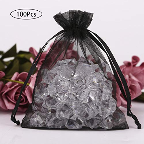Maikouhai Drawstring Organza Jewelry Candy Pouch Party Wedding Favor Gifts Bags Box, 4