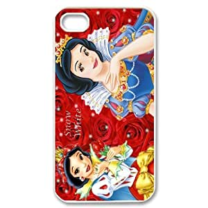 High Quality (SteveBrady Phone Case) Fairy Tale Princess Snow White Hold Apple For Iphone 4 4SPATTERN-4