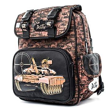 ... De lune schoolbag for Girls - De lune Grade 1-4 Kids Orthopedic Schoolbag Cartoon Tank Pattern School Bags for Boys Backpack Mochila Escolar Gift - by ...