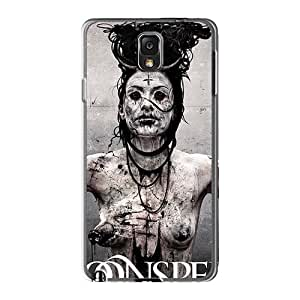 Best Hard Cell-phone Cases For Samsung Galaxy Note3 (mOA15668PBFQ) Customized High-definition Moonspell Band Morbid God Image