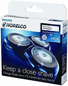 Philips cabezales de afeitado HQ8/40 - Accesorio para máquina de afeitar: Amazon.es: Salud y cuidado personal