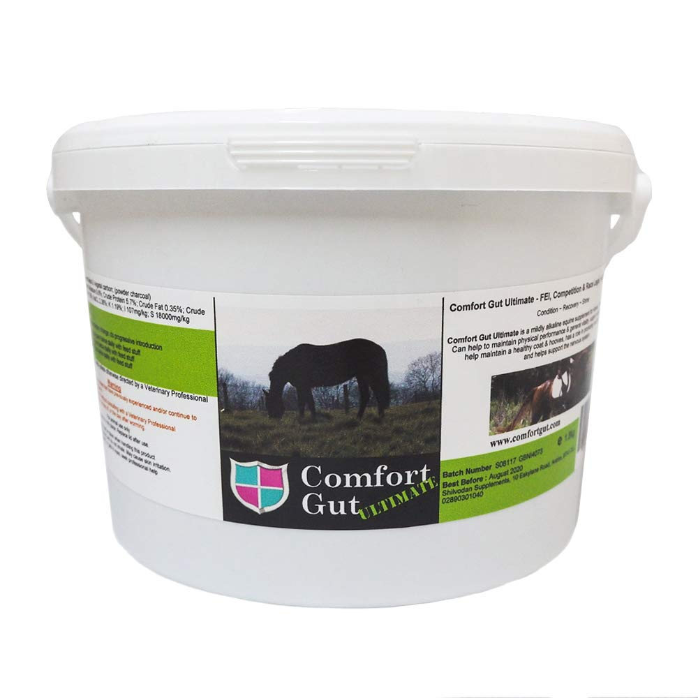 3.6kg Comfort Gut Horse Feeding Supplement for Improved Digestion and Performance, 2.5kg