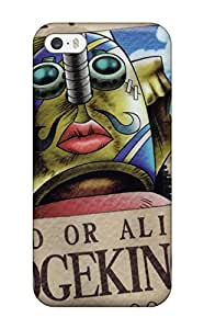 New Style Tpu 5/5s Protective Case Cover/ Iphone Case - Sogeking Wanted Poster One Piece Anime One Piece