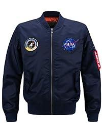 Nyngei Men's Gentlemen classic Retro coat Bomber Air Force Jackets