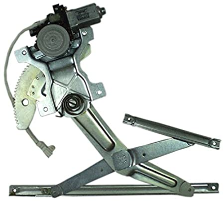 IPCW WR-TY0717FMB2 Front Right Side//Passenger Side Replacement Power Window Regulator with Motor