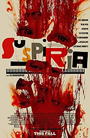 Y05 Suspiria Movie Luca Guadagnino Horror Art Wall Silk Poster