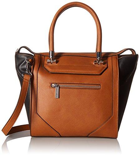 Danielle Nicole Auden Tote Top Handle Bag Cognac Combo One Size