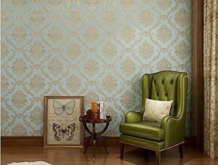 European luxury environmentally-friendly non-woven wallpapers 3D ...