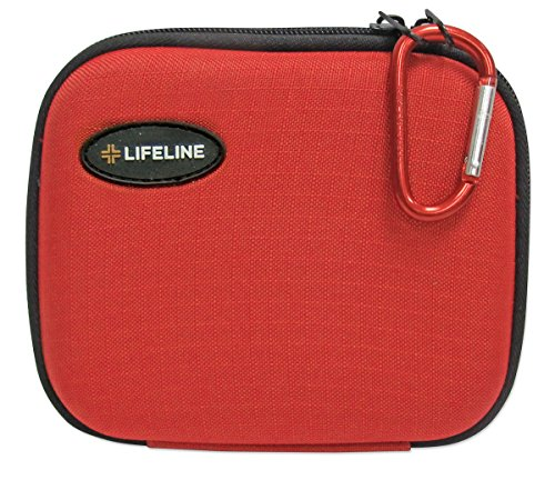 Lifeline 53 Piece First Aid Emergency Kit - Small and Compact Size - Ideal for camping, sporting events, hiking, cycling, car as well as home, school and office by Lifeline