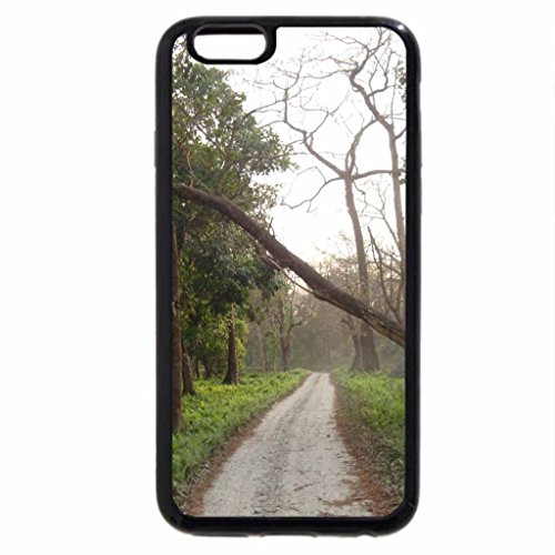 iPhone 6S / iPhone 6 Case (Black) Jaldapara Forest in West Bengal, India