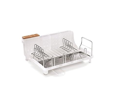 Amazon.com: Marco Abierto Dish Rack con bloque de cuchillos ...