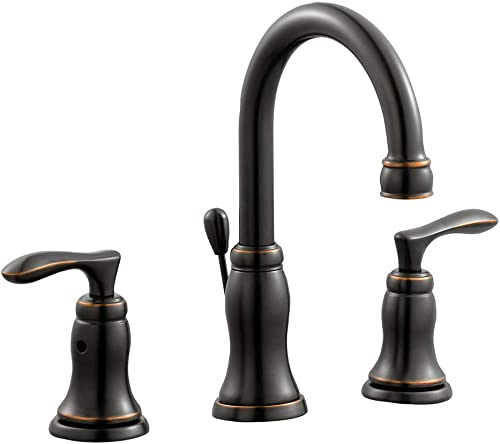 Design House 525816 Madison Wide Spread Bathroom Faucet, Oil Rubbed Bronze