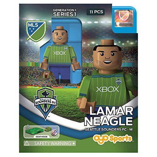 Lamar Neagle MLS OYO Seattle Sounders Generation 1 Series 1 G1 Mini Figure