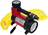 This streamlined, sturdy air compressor is perfect for cars and other standard-sized vehicles and is designed for day-to-day use, from blowing up balls to inflating low tires. The HV-40-A2's powerful 12-volts and 150 PSI capacity is comparabl...