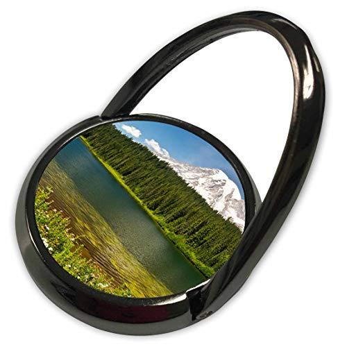 (3dRose Danita Delimont - Washington - Mount Rainier, Reflection Lakes, Washington State, USA - Phone Ring (phr_315176_1))